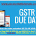 GST annual return due date extended till 31.08.2019 for FY 2017-18