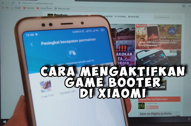 Cara Mengaktifkan Game Booster di Xiaomi