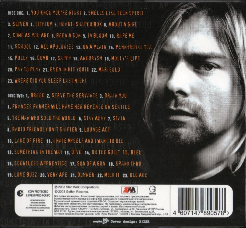 Nirvana the ultimate best of nirvana 2017 remastered 320