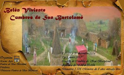 Belén Viviente de Cumbres de San Bartolomé (Huelva) 2016