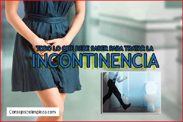 Persona con problemas de incontinencia
