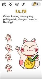Cakar Kucing Mana yang Paling Mirip dengan Cakar Si Kucing