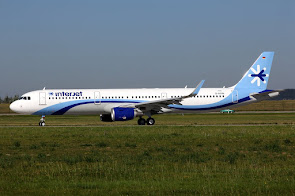 1st A321 for Interjet