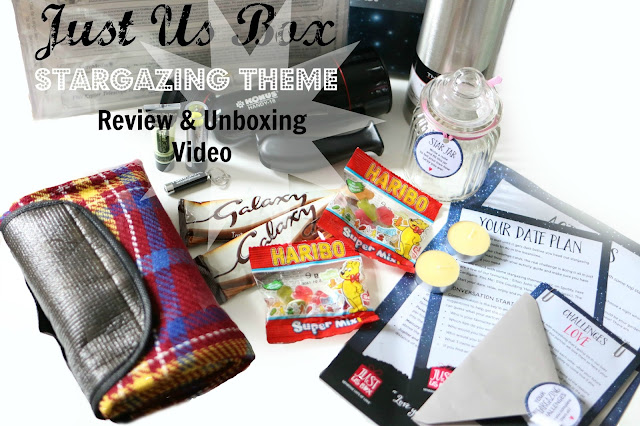 Just Us Box stargazing theme review & unboxing video blog