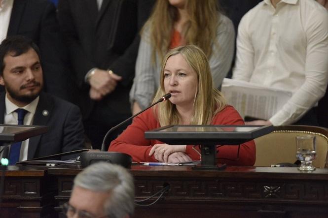 La diputada del PRO Hebe Casado volvió a pedirle a Suarez que el tapabocas no sea obligatorio
