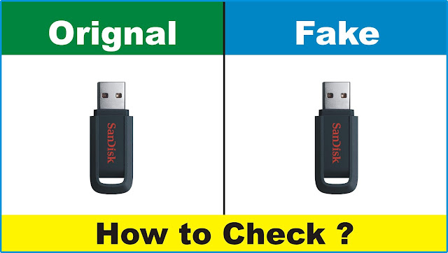 How to Check Fake or Real Memory Card | Pen Drive & Hard Disk 2020