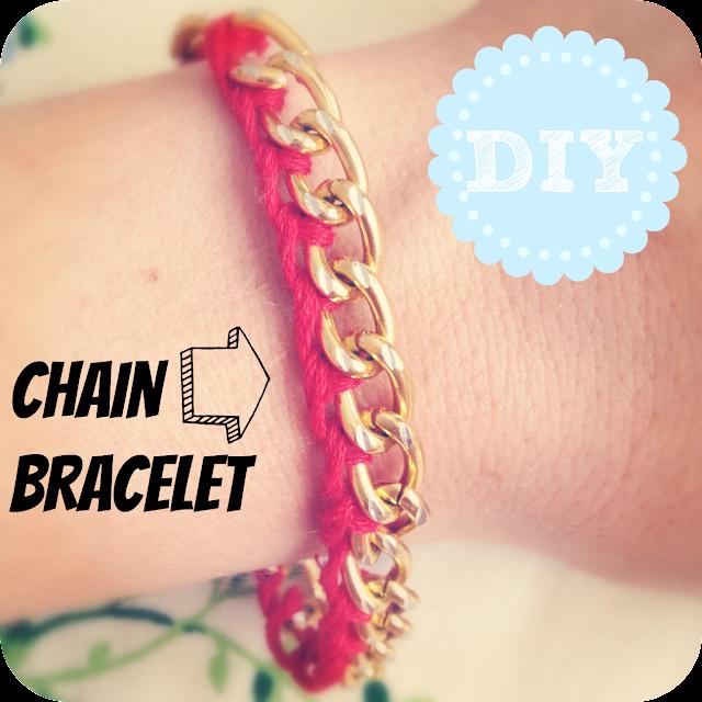 diy woven chain link bracelet burkatron