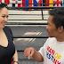 Ruffa Gutierrez meets Manny Pacquiao at L.A. Wildcard gym