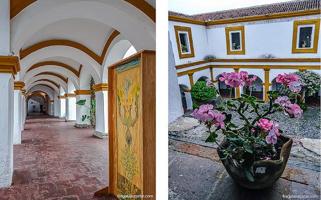 Pátio do Colégio de Jesuítas de Antigua Guatemala