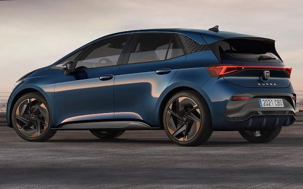 Cupra Born: hatch elétrico derivado do VW ID.3 - produção começa em setembro