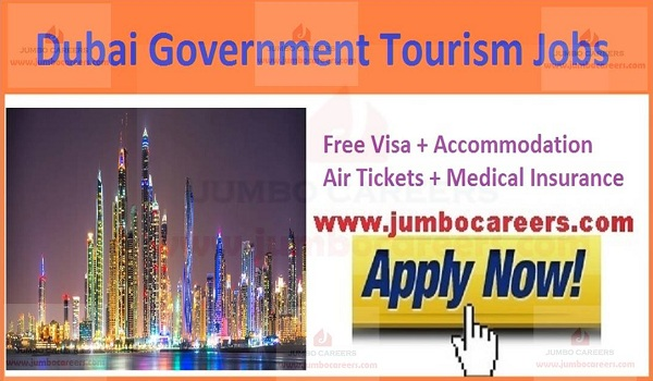 Dubai Tourism Job Salary, Dubai Government Tourism Jobs