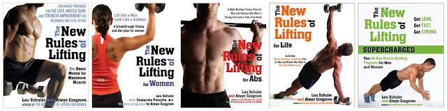 """Головні ідеї та правила із серії книжок """"New Rules of Lifting"""""""