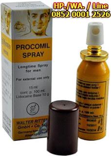 Cara Pemakaian Obat Kuat Procomil Spray Germany