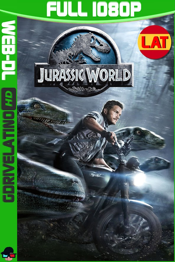 Jurassic World (2015) WEB-DL 1080p OPEN MATTE Latino-Ingles MKV