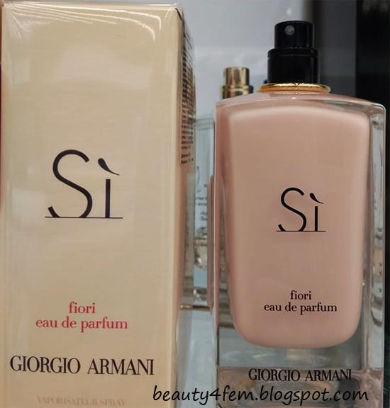 красота добрая сила Giorgio Armani Si Fiori отзывы и описание