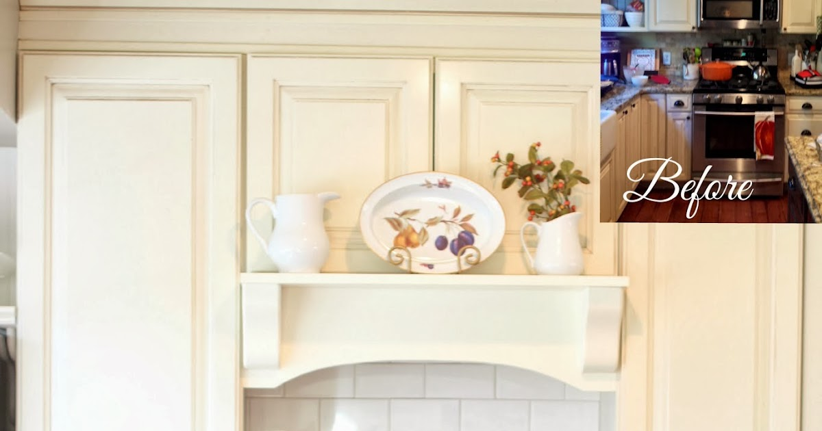 Golden Boys And Me Diy Mantel Hood Tutorial
