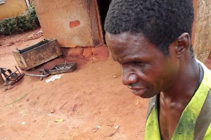 Meet Emeka, Blind Nigerian Mechanic, Most reliable In His Area