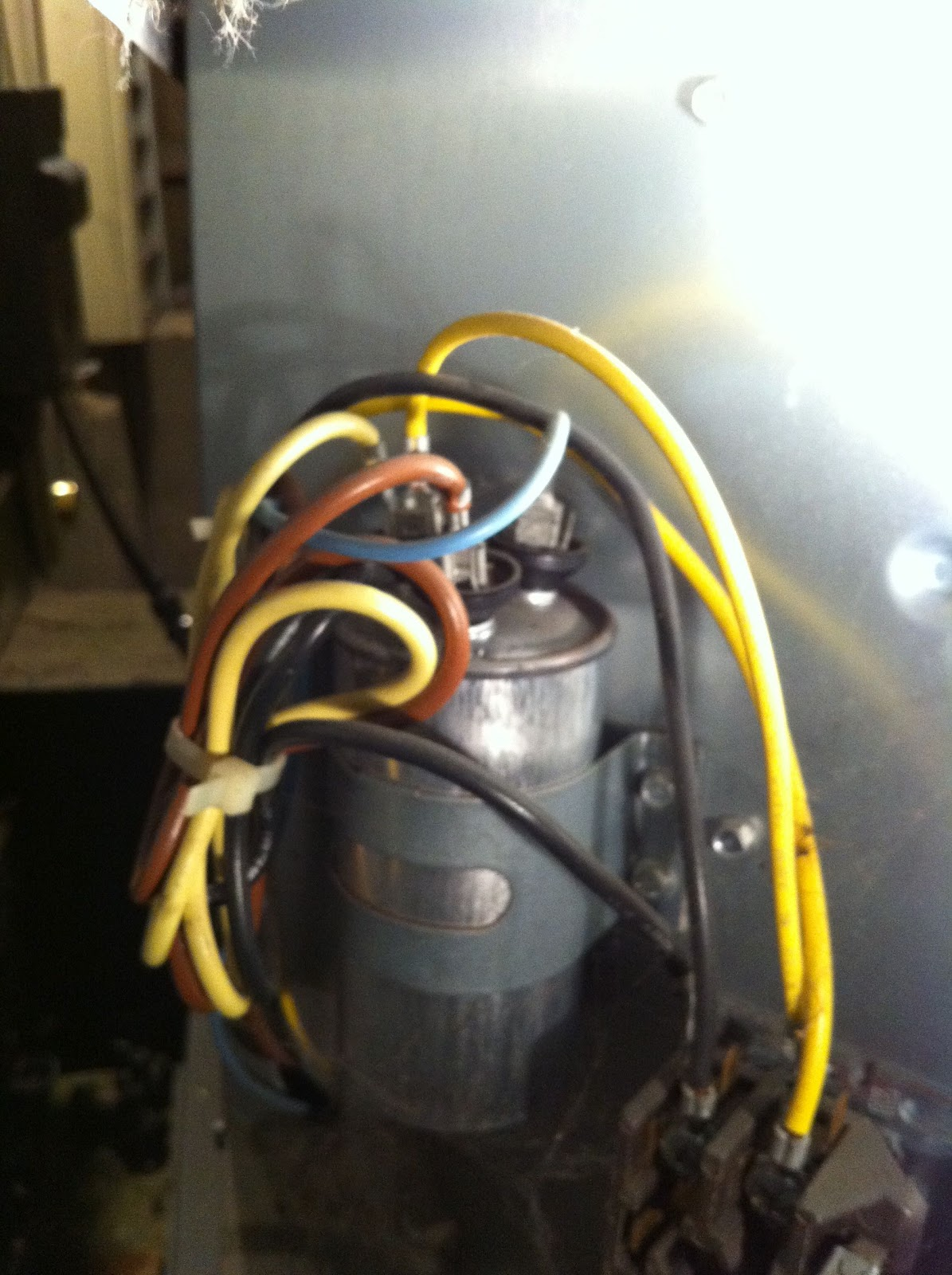 How To Replace Starter Capacitor On Ac Condenser Unit Share Your Start Wiring The Starting