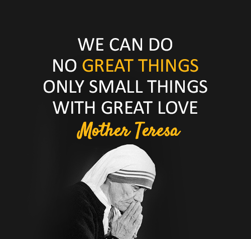 Quote From Mother Teresa: Great Mother Teresa Quotes. QuotesGram