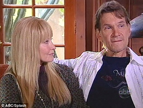 Hollywood: Patrick Swayze With His Wife In Pics And Wallpapers Halle Berry Twitter