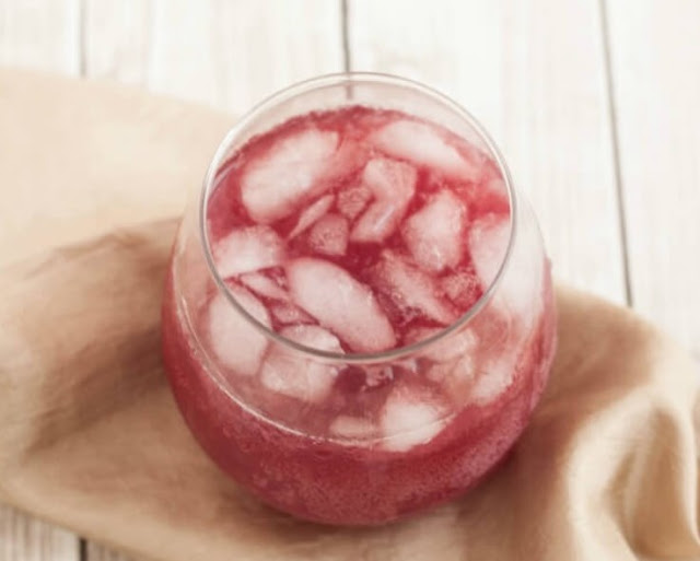 POMEGRANATE PUNCH #drinks #recipe