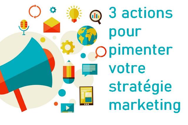 3 إجراءات تسويقية يجب دمجها في إستراتيجية التسويق الخاصة بك للوصول إلى المزيد من العملاء
