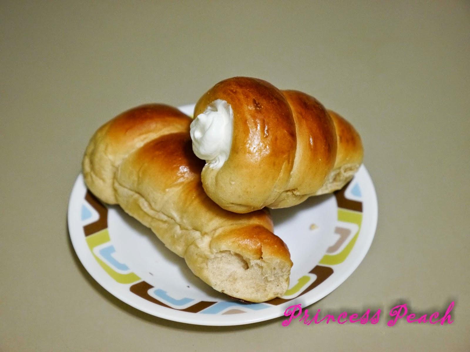 鮮奶油螺旋麵包