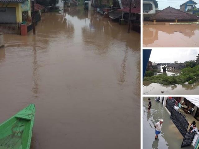 Hingga Sabtu Pagi, Banjir Masih Rendam Ribuan Rumah di Kawasan Bandung Selatan