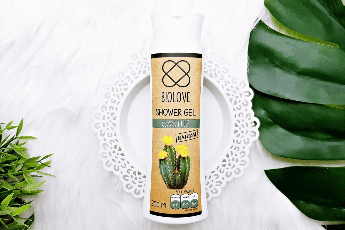 Biolove, Żel pod prysznic kaktus, optymalne nawilżenie