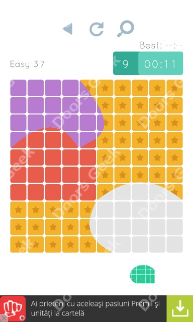 Cheats, Walkthrough for Blocks and Shapes Level 37