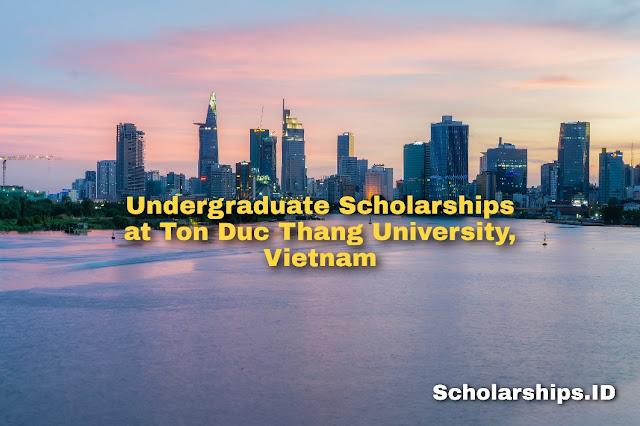 Undergraduate Scholarships at Ton Duc Thang University (TDTU), Vietnam