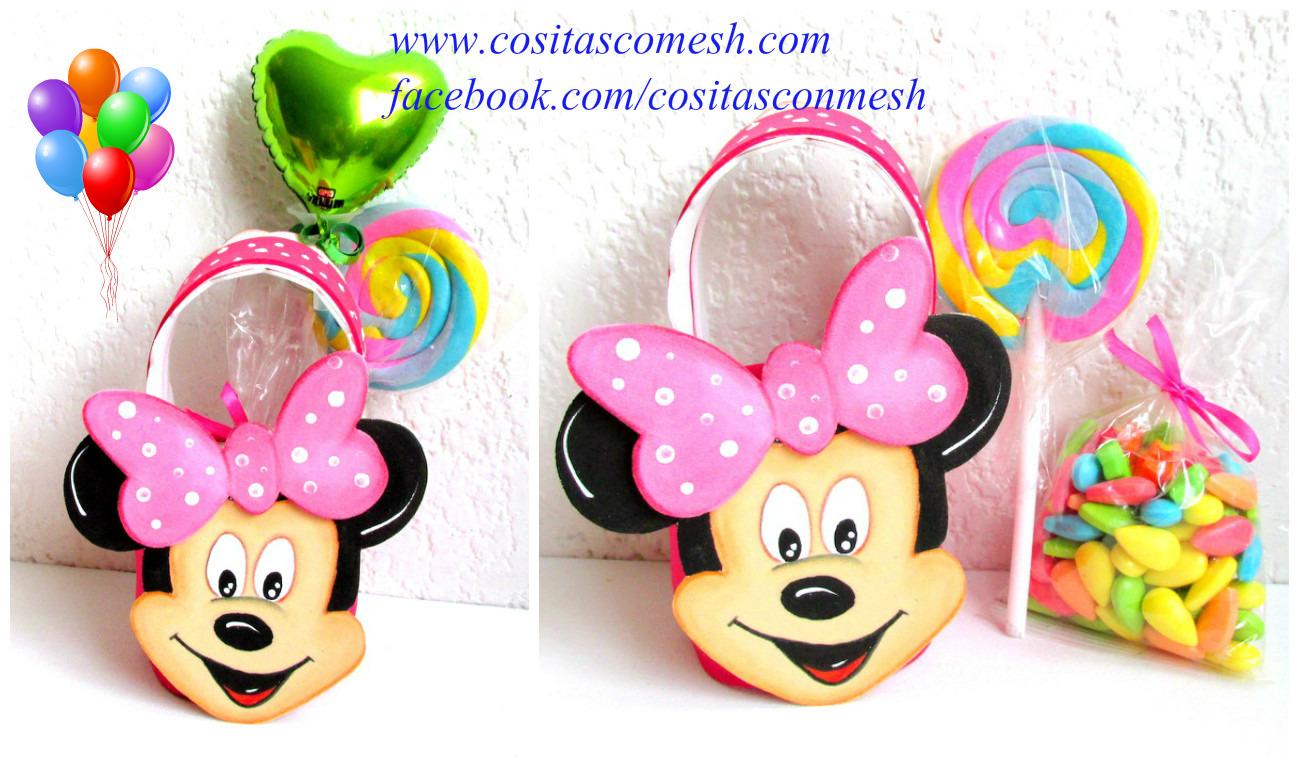 Como Hacer La Cara De Minnie Mouse Para Cumpleanos Infantiles