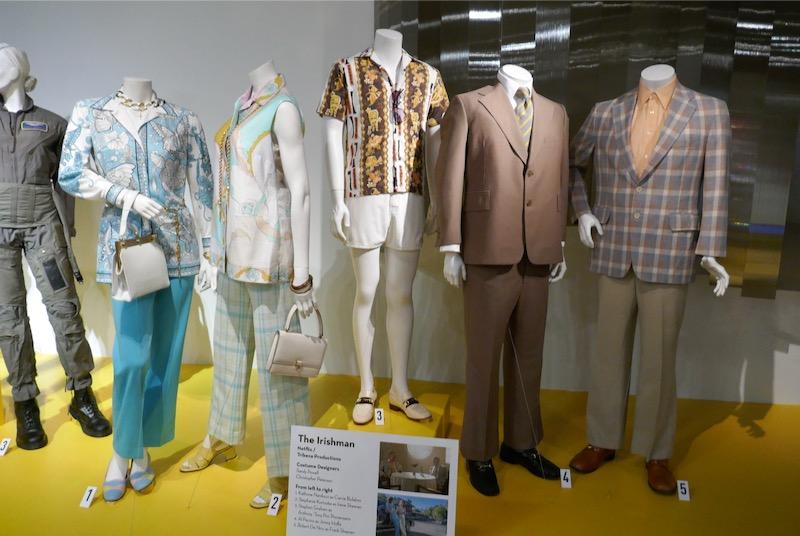 The Irishman movie costumes FIDM Museum