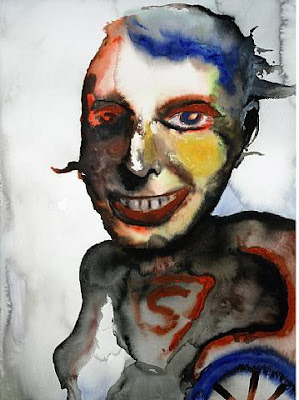Ubermensch, pintura de Marilyn Manson.