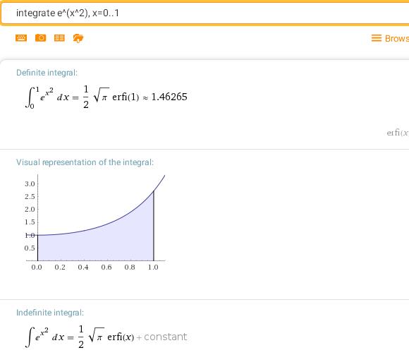 Как вычислить интеграл в Вольфрам Альфа