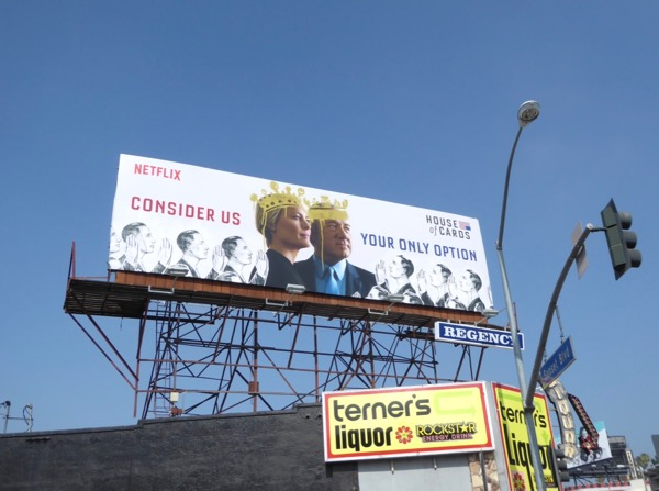 House of Cards season 5 Emmy FYC billboard