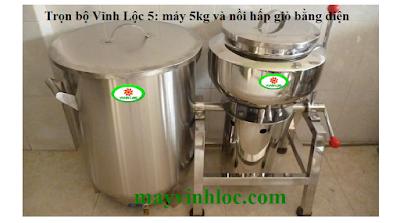 Bán máy xay giò chả 5kg giá rẻ nhất Việt Nam 03