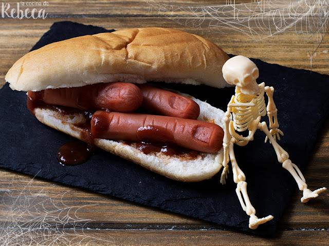 Perrito caliente para Halloween