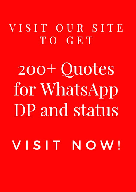 200+ Unique Quotes for WhatsApp DP and status