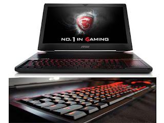 Laptop Gamer Terbaik MSI GT80 Titan SLI