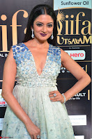 Vimala Raman in a Deep Neck White Shaded Sleeveless Gown ~  Exclusive 22.JPG