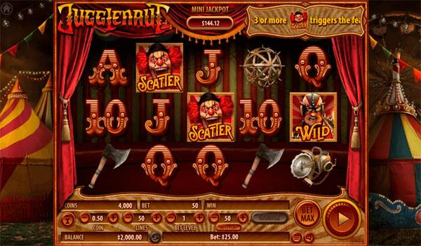 Main Gratis Slot Indonesia - Jugglenaut Habanero