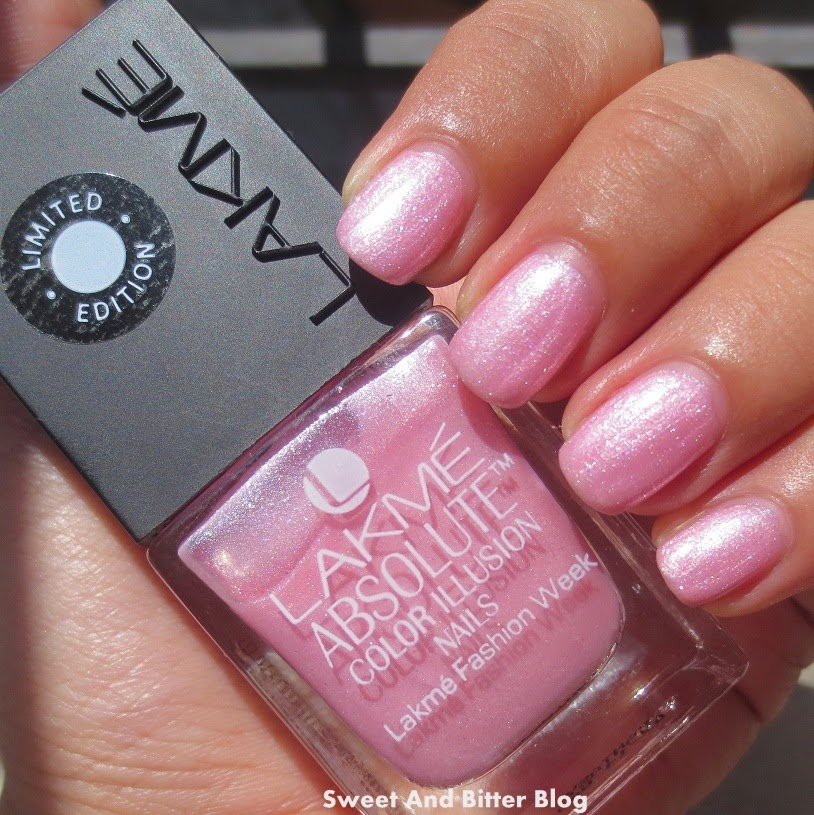 Lakme Absolute Color Illusion Nails FANTASY swatch review