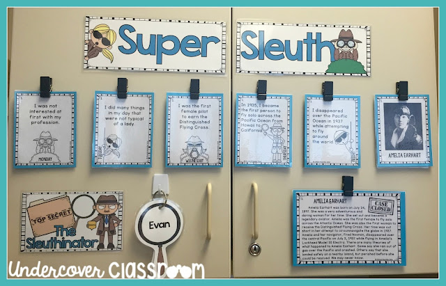 Super Sleuth is an enrichment program that you can easily set up and use in your classroom. Here are the details about how it operates.