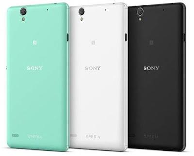 Pilihan warna Sony Xperia C4 Dual SIM E5333