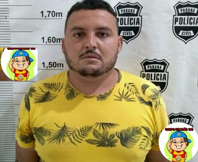 Suspeito de tentar matar desafeto em São Francisco do Oeste foi preso no estado do Paraná