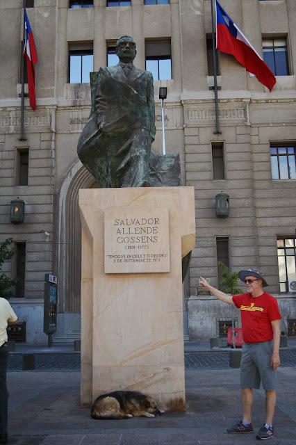 Şili başkan Salvador Allende