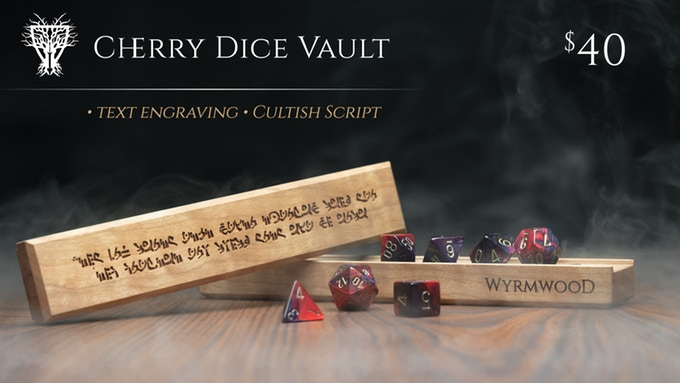 Tabletop Fix: Wyrmwood Gaming - New Dice Vault Kickstarter