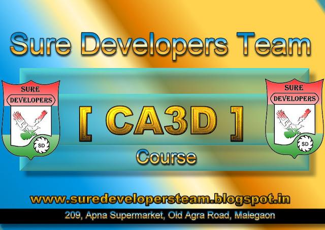 Certificate in AutoCAD 3D [CA3D]