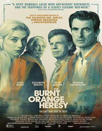 The Burnt Orange Heresy (2020) Full Movie